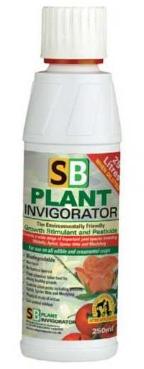 Bottle of SB Plant Invigorator