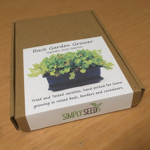 Back Garden Grower Vegetable Seeds Box