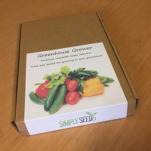 Greenhouse Grower Vegetable Seeds Box