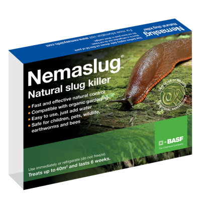 Nemaslug Slug Killer Nematodes - Small Packet, 40m2