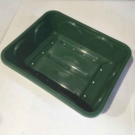 Heavy Duty Small Seed Tray with Holes