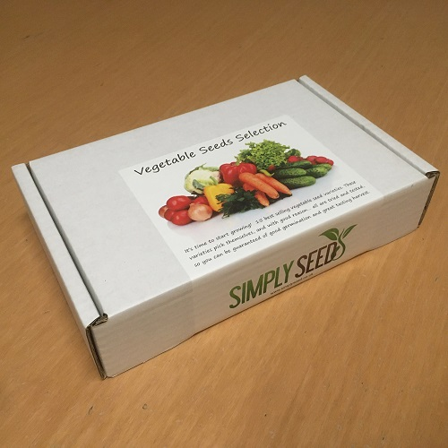 Vegetable Seeds Selection Box